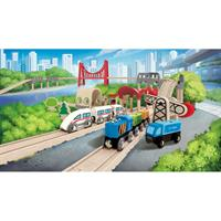 Hape E3712 Double Loop Railway Set 1