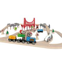 Hape E3712 Double Loop Railway Set 4