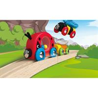 Hape E3806 Lucky Ladybug and Friends Train Marienkaefer 01