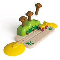 Hape Rails With Monkey Hideout
