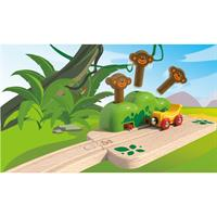 Hape E3809A Monkey Pop Up Track Affen Fliegen 03