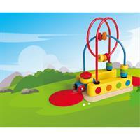 Hape E3811A Bead Maze Rainbow Track 05