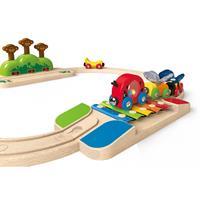 Hape E3814 Railway Set Holz Zug Eisenbahn Mix 05