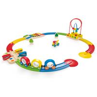 Hape Sights & Sounds Railway Wooden