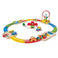 Hape Rainbow Route Railway Wooden