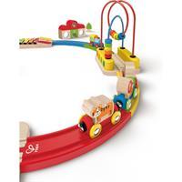 Hape E3816 Holz Eisenbahn Erlebnis Eisenbahn Set 02