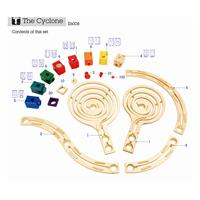 Hape E6008 the cyclone murmelbahn inhalt