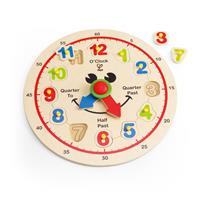 Hape Happy Hour-Clock - Getting to Know the Clock
