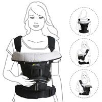 Hauck 4-Way Carrier Baby Carrier Black