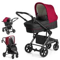 hauck Atlantic Plus Trio Set 2017 Kinderwagen mit Tragewanne & Babyschale 0+