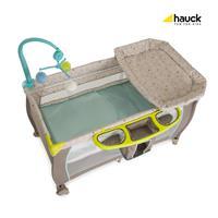 Hauck Babycenter Reisebett 2017 607589 Multi Dots Sand Einhang fuer Neugeborene