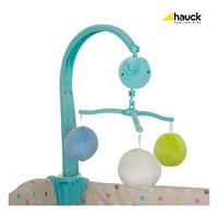 Hauck Babycenter Reisebett 2017 607589 Multi Dots Sand Mobile
