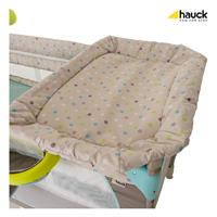Hauck Babycenter Reisebett 2017 607589 Multi Dots Sand Wickelaufsatz