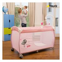 Hauck Babycenter Reisebett 2017 607596 Birdie Grey Lifestyle im Zimmer