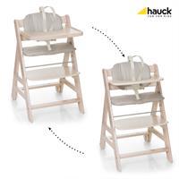 Hauck Beta Plus Treppen Hochstuhl Buche 663103 White washed Wandelbar