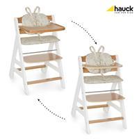 Hauck Beta Plus Treppen Hochstuhl Buche 663158 White Natur Wandelbar