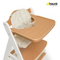 Hauck Beta Plus Treppen Hochstuhl Buche 663158 White Natur mit Essbrett