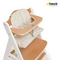 Hauck Beta Plus Treppen Hochstuhl Buche 663158 White Natur ohne Essbrett