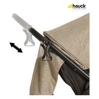Hauck Buggy Lift Up 4 2017 Melange Beige X 148051 Hoehenverstellbarer Schiebegriff mit Becherhalter