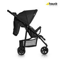 Hauck Citi Neo II Drei Rad Buggy 2017 Caviar Stone Ausziehbares Sonnenverdeck