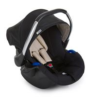Hauck Comfort Fix Set mit Babyschale und Isofix Basis 339886 Black Babyschale Gruppe 0 Plus