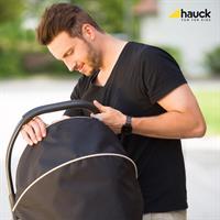 Hauck Comfort Fix Set mit Babyschale und Isofix Basis 339886 Black Komfortabler Tragegriff
