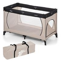 Hauck Dream'n Play Plus Reisebett 60x120 cm Beige/Grey