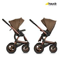 Hauck King Air Plus Trio Set Kombikinderwagen mit Babyschale 2017 Melange Chocolate