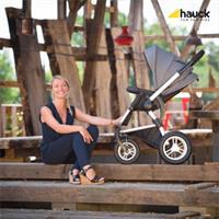 Hauck King Air Plus Trio Set Kombikinderwagen mit Babyschale 2017 melange grey Lifestyle Sportwagen