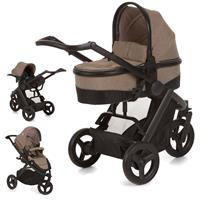 hauck Maxan 3 Plus Trio Set 2017 Stroller incl. Carrycot & Baby carseat 0+