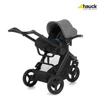 Hauck Maxan3 Plus Trio Set Melange Stone 403105 Travel System mit Babyschale