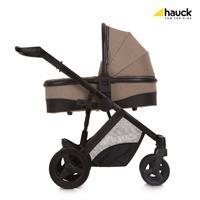 Hauck Maxan4 Plus Trio Set Kombikinderwagen mit Babyschale 2017 melange sand Kinderwagen