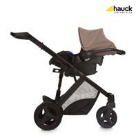 Hauck Maxan4 Plus Trio Set Kombikinderwagen mit Babyschale 2017 melange sand Travel System