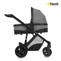 Hauck Maxan4 Plus Trio Set Kombikinderwagen mit Babyschale 2017 melange stone Kinderwagen