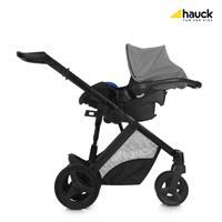 Hauck Maxan4 Plus Trio Set Kombikinderwagen mit Babyschale 2017 melange stone Travel System