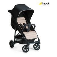 Hauck Rapid4 Trio Set Kombikinderwagen mit Babyschale 2017 Caviar Beige Sportwagen ausklappbares Son