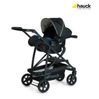 Hauck Rapid4 Trio Set Kombikinderwagen mit Babyschale 2017 Caviar Beige TravelSet