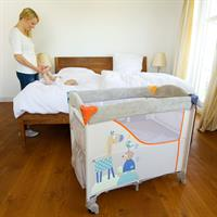 Hauck Sleep n Care Reisebett Beistellbett 2017 608135 Animals Mama mit Baby