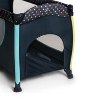 Hauck Sleep n Play Center II Reisebett 60x120cm Multi Dots navy 600573 Schlupf
