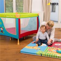 Hauck Sleeper SQ Reisebettmatratze 90x90 cm Jungle Fun 890714 Passend zu Reisebett Mit Mama