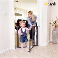 Hauck Stop n Safe 75 81cm Tuerschutzgitter zum Einklemmen Anwendung