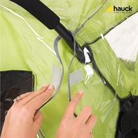 Hauck Wetterschutz Raincover Universal fuer Buggys 550182 Befestigung