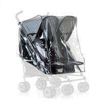 Hauck Wetterschutz/Raincover für Zwillings Buggy Turbo Duo/Roadster Duo SL/SLX