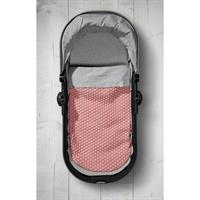 JOOLZ Essentials Blanket Decke Honeycomb pink Anwendung mit JOOLZ Tragewanne