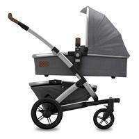 Joolz Geo Studio MONO Gris Kinderwagen mit Tragewanne & Sportsitz