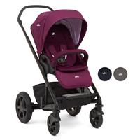 Joie Chrome DLX Stroller incl. Footmuff, Adapter & Rain obscuring