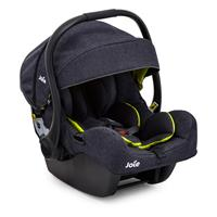 Joie Chrome DLX Trio Set Denim Zest | Kinderwagen mit Babyschale iGemm