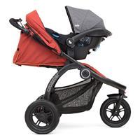 Joie Crosster 2017 Kinderwagen Jogger Rust Als Travel System mit Babyschale