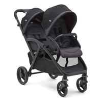 Joie Evalite Duo 2017 Geschwisterkinderwagen Two Tone Black
