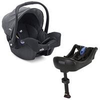 Joie Gemm Set Infant Carrier Gemm & belted Gemm Base Chromium
